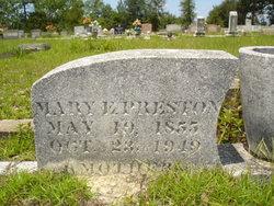 Mary Ann Elizabeth <i>Coxwell</i> Preston