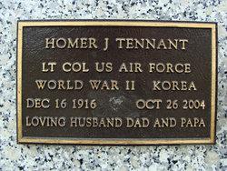 Homer J Tennant