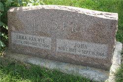Emma <i>Van Wie</i> Loder