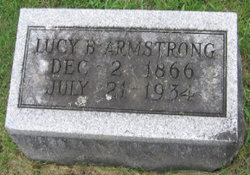 Lucy Belle <i>Stewart</i> Armstrong