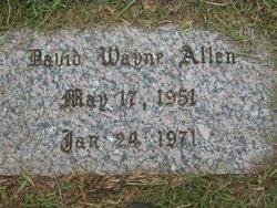 David Wayne Allen