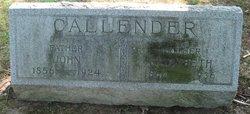 John Callender, Sr