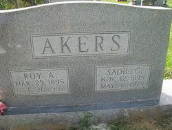 Sadie <i>Cox</i> Akers