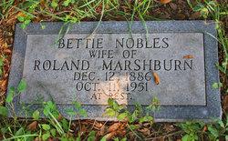Bettie <i>Nobles</i> Marshburn