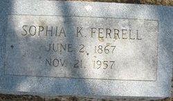 Sophia K. Ferrell