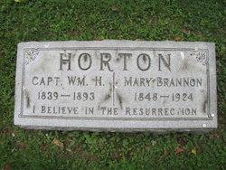 Mary <i>Brannon</i> Horton