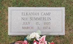 Elkanah <i>Summerlin</i> Camp