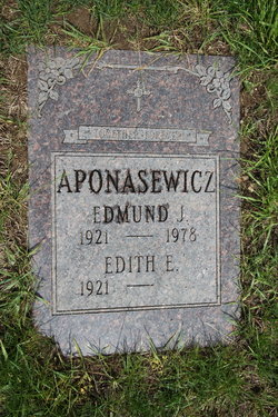 Edith Esta <i>Elliott</i> Aponasewicz