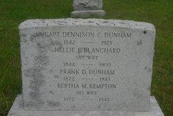 Bertha M. <i>Kempton</i> Dunham
