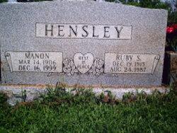 Ruby S. Hensley