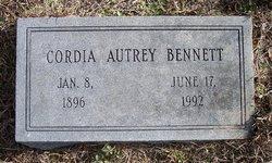 Cynthia Cordia <i>Autrey</i> Bennett