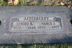 Nancy Jane <i>Zumalt</i> Atterberry