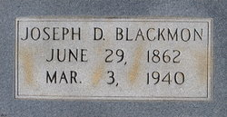 Joseph DeWitt Pomp Blackmon