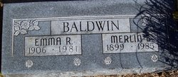 Emma R <i>Thompson</i> Baldwin