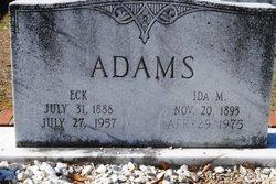 Ida Len <i>McWhorter</i> Adams