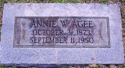 Annie Woodhall Agee