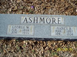Nancy Rebecca <i>Taylor</i> Ashmore