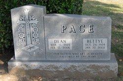 Bettye Jo <i>Cawthon</i> Pace