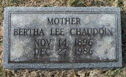 Bertha Lee <i>Jaggers</i> Chaudion