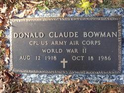 Donald Claude Bowman
