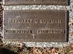 Margaret <i>Glover</i> Bowman