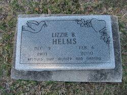 Lizzie Belle <i>Haisten</i> Helms