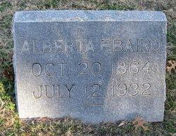 Alberta F. Baird