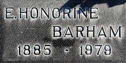 Mrs Honorine Eunice <i>Foster</i> Barham
