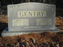 Mary Ann Polly <i>Loftis</i> Gentry