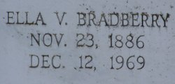 Ella Virginia <i>Hicks</i> Bradberry