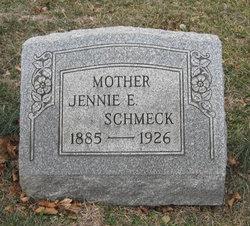 Jennie Edna <i>Moore</i> Schmeck