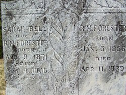 Sarah Bell <i>Pendleton</i> Forester