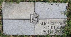 Alice <i>Gibbons</i> Bickley