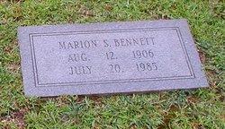 Marion Elizabeth <i>Stone</i> Bennett
