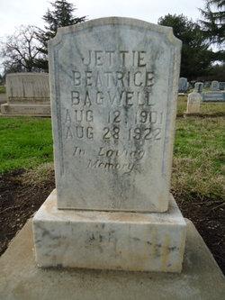 Jettie Beatrice <i>Switzer</i> Bagwell