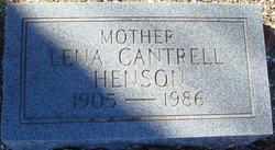 Estalena Lena <i>Crane</i> Cantrell
