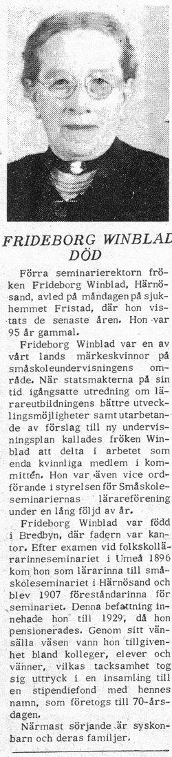 Frideborg Winblad