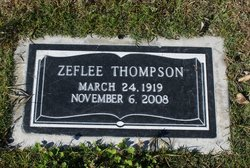 Zeflee <i>Langston</i> Thompson