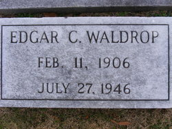 Edgar C Waldrop