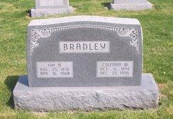 Coleman W Bradley