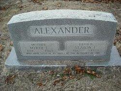 Myrtie L. <i>Franklin</i> Alexander