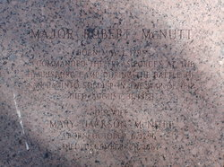 Maj Robert McNutt