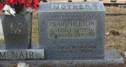 Pearl <i>Helton</i> McNair
