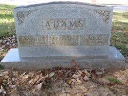 Sallie <i>Martin</i> Adams