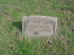 George M Burr