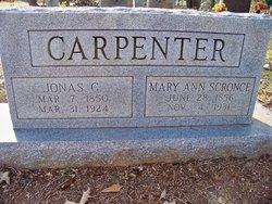Mary Ann <i>Scronce</i> Carpenter