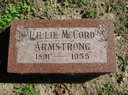 Lillie May <i>Adair</i> Armstrong