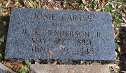 Josie <i>Carter</i> Henderson