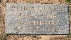 Rev William H Rogers