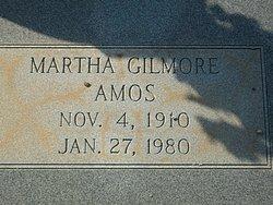 Martha <i>Gilmore</i> Amos